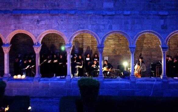 Concert al Monestir de Santa María de Ripoll