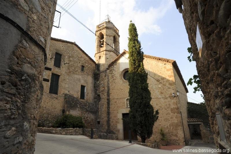 Foto església les Escaules